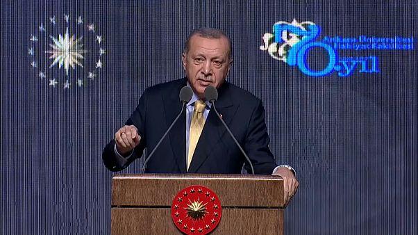 Cumhurbaşkanı Erdoğan: Bağdadi'nin eşini, kız kardeşini ve eniştesini yakaladık
