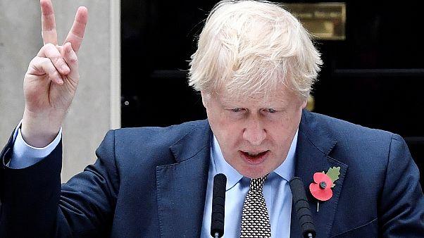 """""""Покончим с """"брекситом"""""""": Борис Джонсон запустил предвыборную кампанию"""