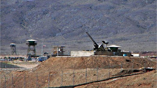 دورنمایی از سایت هستهای نطنز