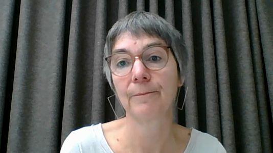 Sie ist Pressesprecherin der Heinrich-Böll-Stiftung