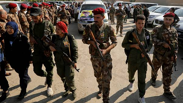 شبه نظامیان کرد شمال سوریه
