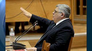 Athen: Prozess gegen rechtsextreme Partei - Angeklagte sehen sich als verfolgte Nationalisten