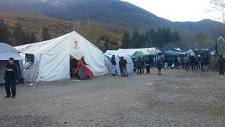 Vucjak camp in November 2019