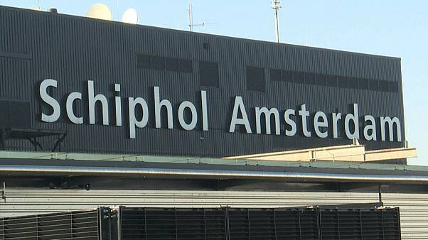 Аэропорт Амстердама Схипхол работает в штатном режиме