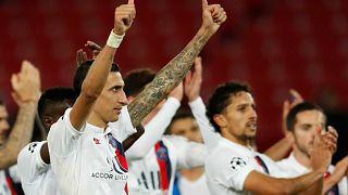 Лига чемпионов: четвёртая победа ПСЖ