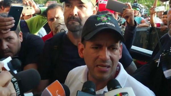 Luis Fernando Camacho llega a La Paz para pedir la renuncia de Morales