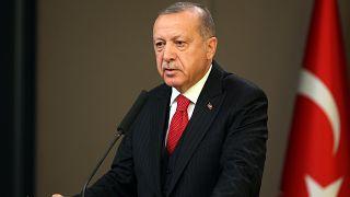 Türkiye Cumhurbaşkanı Recep Tayyip Erdoğan, Macaristan ziyareti öncesi Esenboğa Havalimanı'nda gündeme dair açıklamalarda bulundu