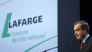 Lafarge's ex-Chairman and CEO, Bruno Lafont, at a shareholders meeting in Paris, France, May 7, 2015.