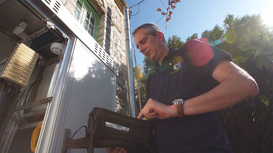 Rural Greece enjoys the benefits as internet isolation comes to an end
