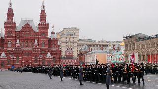 Легендарный парад в Москве