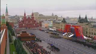 Idén is volt katonai parádé Moszkvában