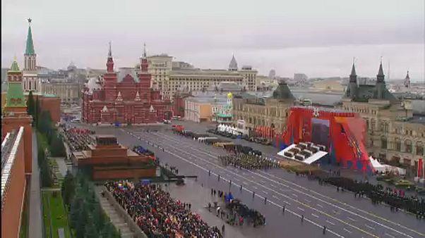 """Moskau: Militärparade am """"Tag des Sieges"""""""