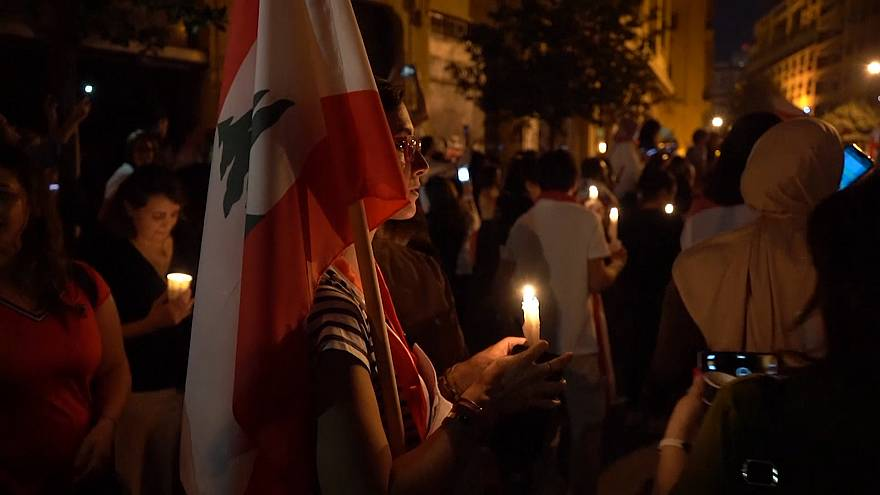 Women march in Lebanon to demand government resignation
