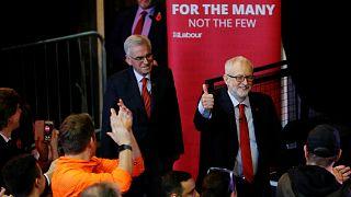زعيم حزب العمال البريطاني جيريمي كوربن