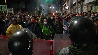Μαίνονται οι συγκρούσεις στην Βολίβια