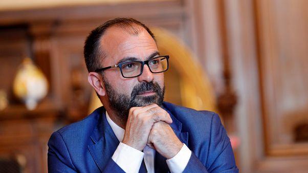 Italy's Education Minister Lorenzo Fioramonti in Rome, Italy, November 4, 2019.