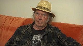 Neil Young de retour avec un album engagé sur le climat