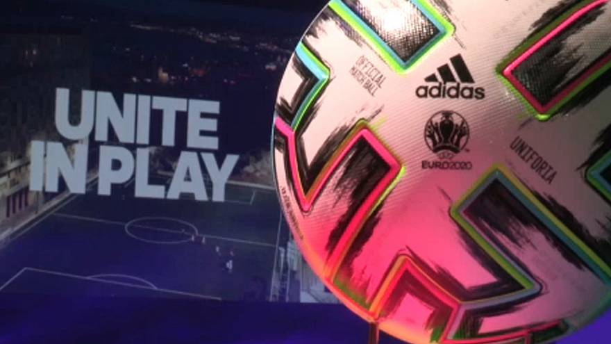 """Football : le ballon de l'Euro 2020 baptisé """"Uniforia"""""""