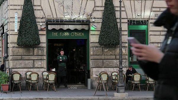 A a római Flann O'Brien ír pubban késelték meg a vendégszurkolókat