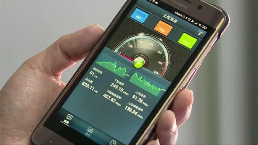 الصين تبدأ تطوير تكنولوجيا اتصالات الجيل السادس 6G   Euronews