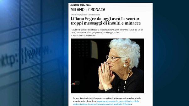 Итальянский сенатор получила охрану после участившихся угроз