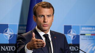 """Macron declara la """"muerte cerebral"""" de la OTAN"""