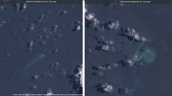Büyük Okyanus'taki 'Ateş Halkası' bir adayı yuttu, yepyeni bir ada oluşturdu