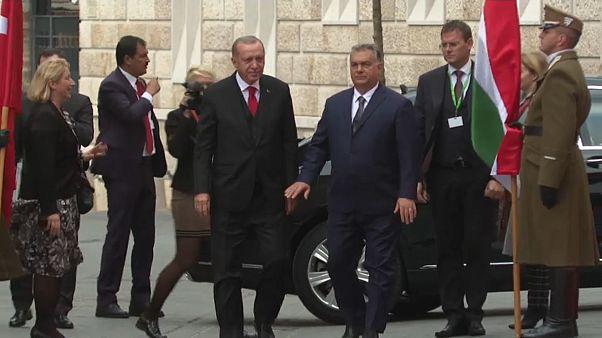 فيديو: أوربان وإردوغان يظهران تفاهمهما في لقاء بودابست