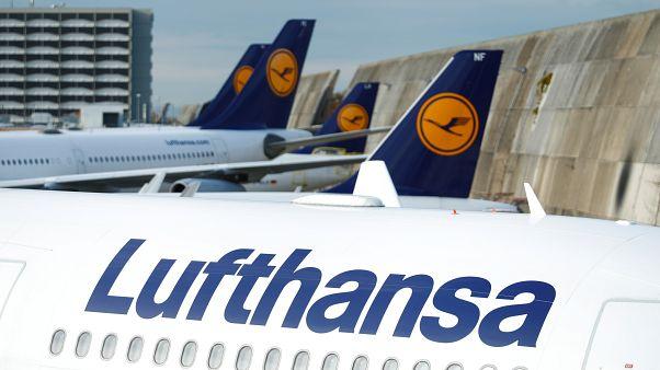 Lufthansa: Greve afeta 180.000 passageiros
