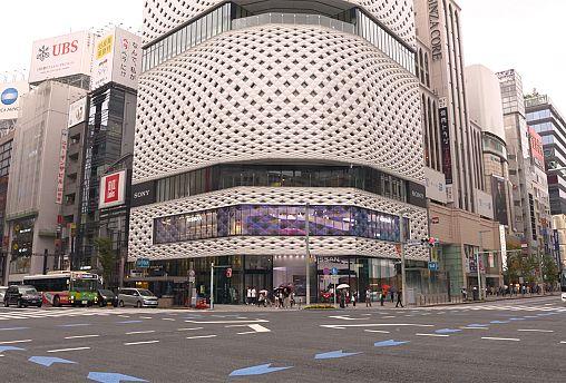 Das Ginzaviertel in Tokio: Einkaufen, Kultur und Kunst