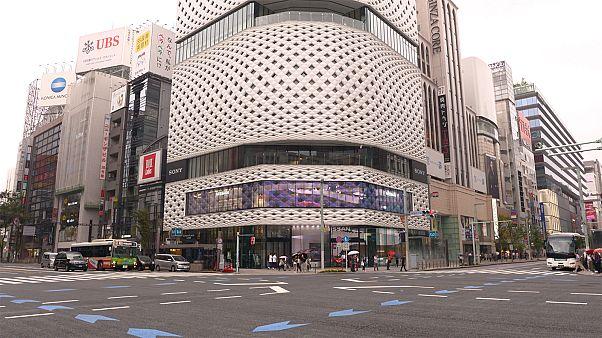 Japan's past is kept alive in Tokyo's Ginza neighbourhood