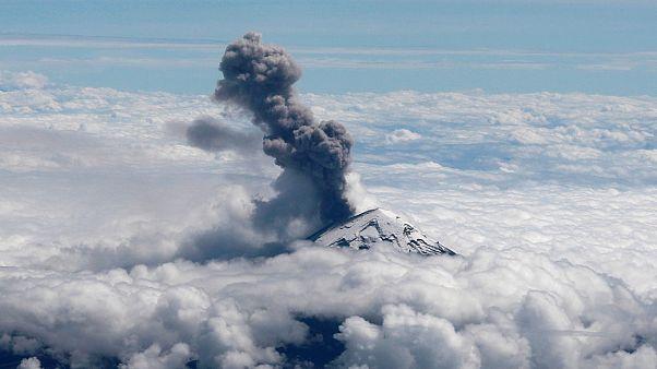 منظر جوي لبركان بوبوكاتبتبيل 18 أكتوبر 2019