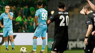 Beşiktaş ile Trabzonspor UEFA Avrupa Ligi'nden elendi; Başakşehir grup lideri oldu