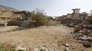 صورة من الأرشيف لزلزال ضرب إيران في 2017