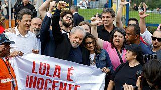 آزادی لولا داسیلوا، رئیس جمهوری پیشین برزیل از زندان