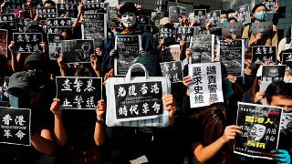 Primer estudiante muerto en las protestas de Hong Kong