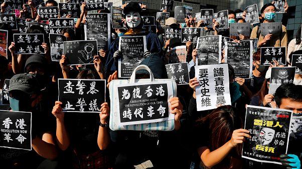 Hongkong: Trauer um 22-jährigen toten Studenten