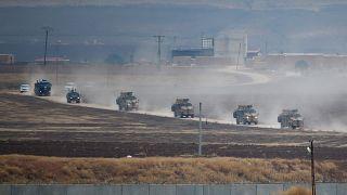 Suriye'de ortak devriye gerçekleştiren Türk ve Rus ordusu