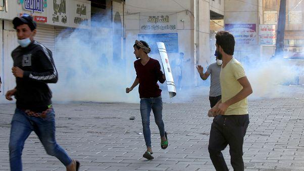 Af Örgütü: Irak'taki gösterilerde İran yapımı ölümcül gaz bombası tespit edildi