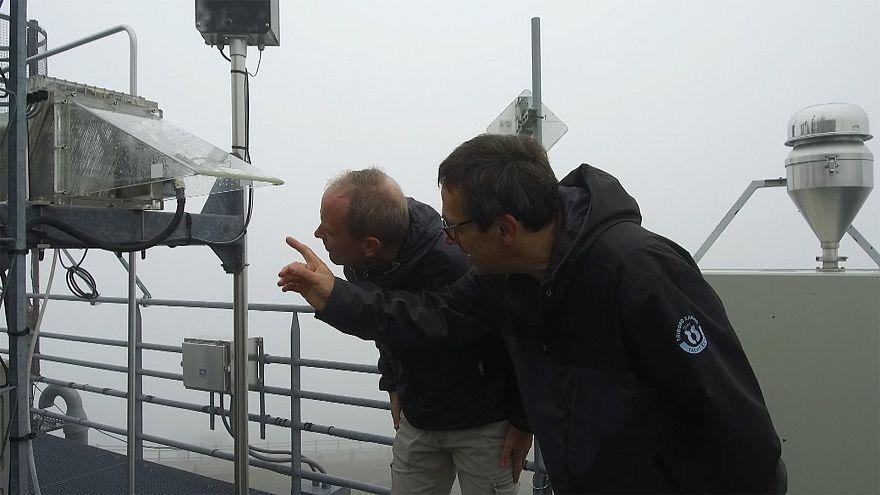 Így mérik a levegő CO2-tartalmát
