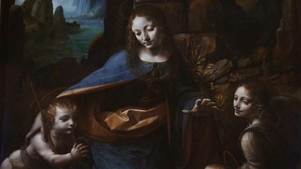 London's National Gallery displays single Da Vinci painting in 'immersive' exhibition