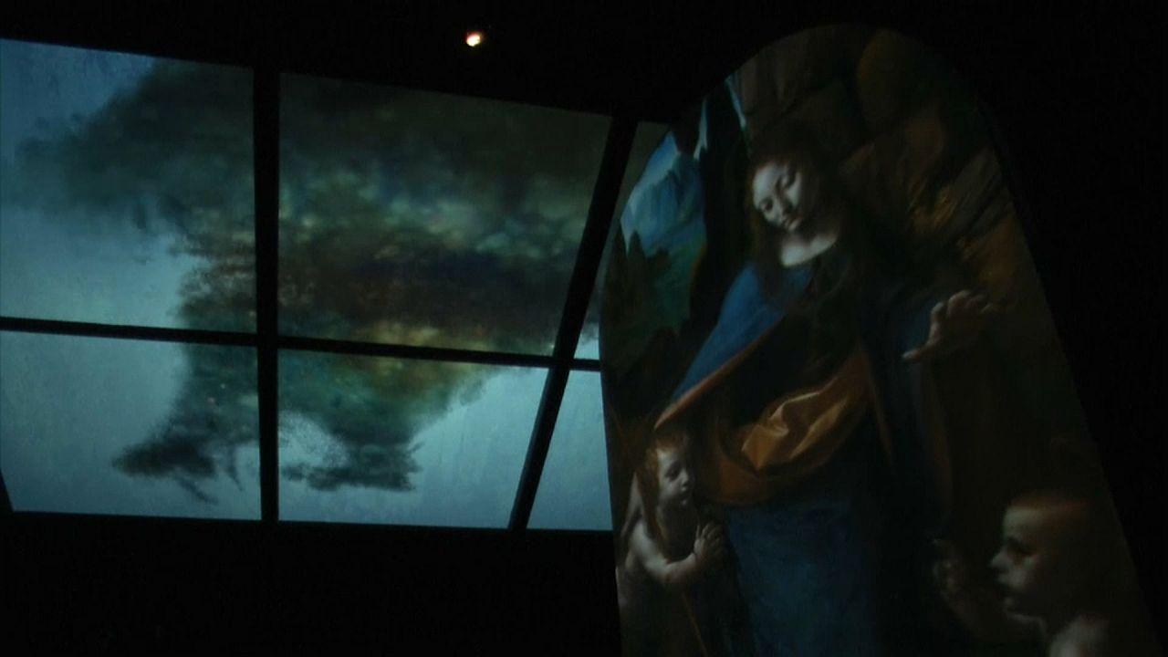 Leonardos Felsgrottenmadonna - animiert