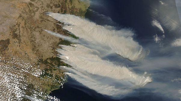 Imagen del satélite MODIS Aqua de la NASA
