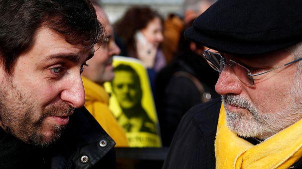 بازداشت و آزادی مشروط دو رهبر کاتالونیا در بلژیک