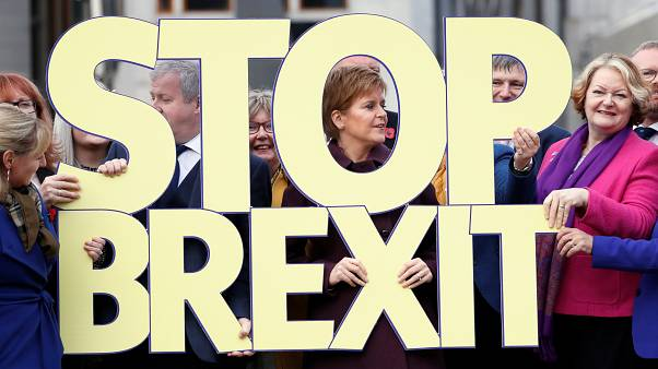 The SNP's 2019 campaign was launched in Edinburgh, Scotland