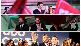 Die Chefs von VOX und PP jubeln - doch stärkste Kraft bleiben Sanchez' Sozialisten