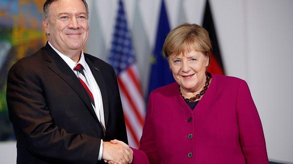Merkel y Pompeo defienden en Berlín la figura de la OTAN