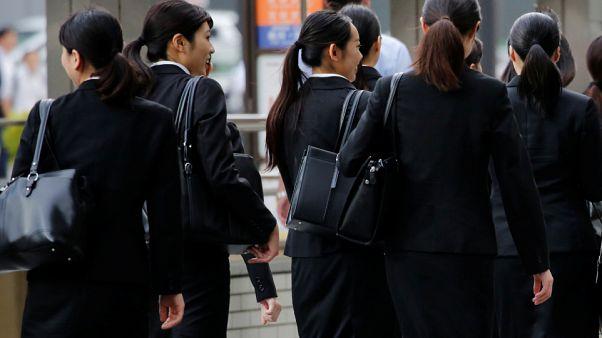 Japonya'da kadın çalışanlar