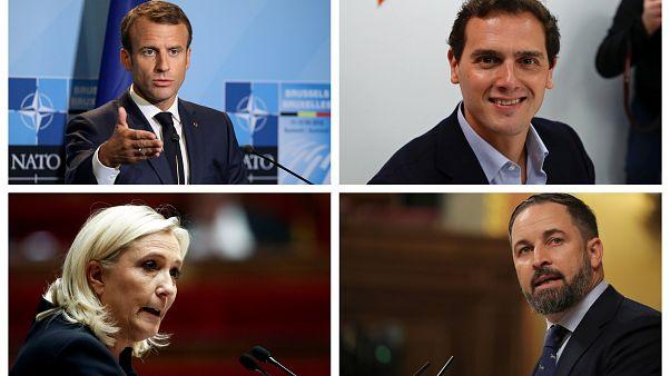 Francia, referente de la campaña electoral más corta de la historia española