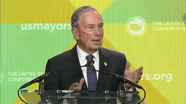 Michael Bloomberg admite candidatura à Casa Branca